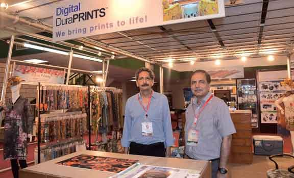 DuraPRINTS Apparel and Upholstery Printing Services at DPS World 2016.